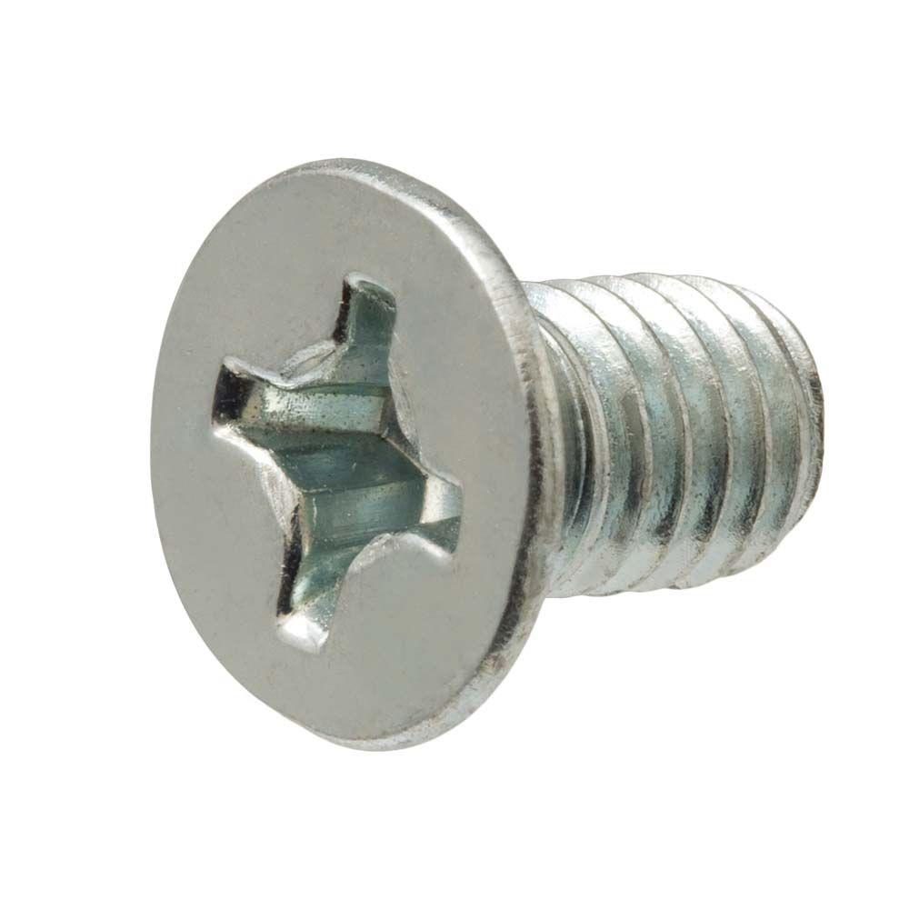 The Hillman Group 100 Count 14 1 4 In X 0 75 In Stainless Steel Inter Flat Head Sheet Metal Stainless Steel Fasteners