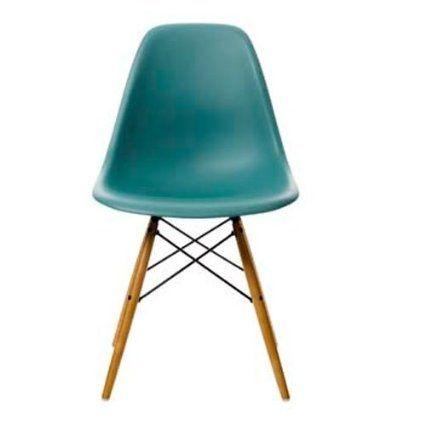 Piedini Plastica Per Sedie.Vitra Dsw 440023000204 Eames Chair Dsw Sedia In Plastica Con