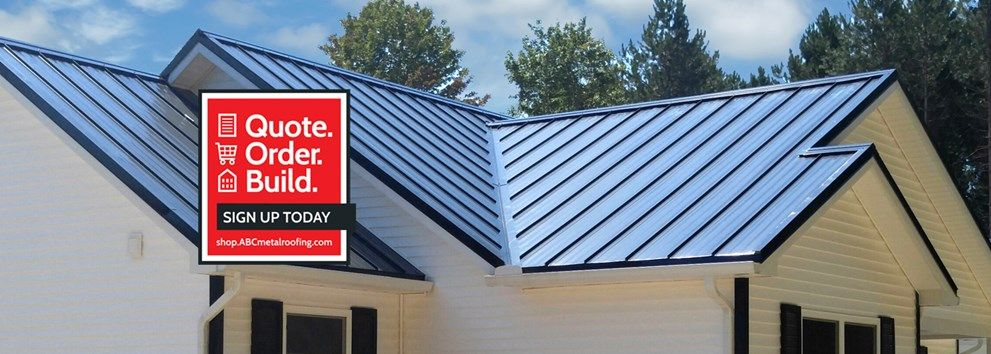 ABC (American Building Components). metal Roofing