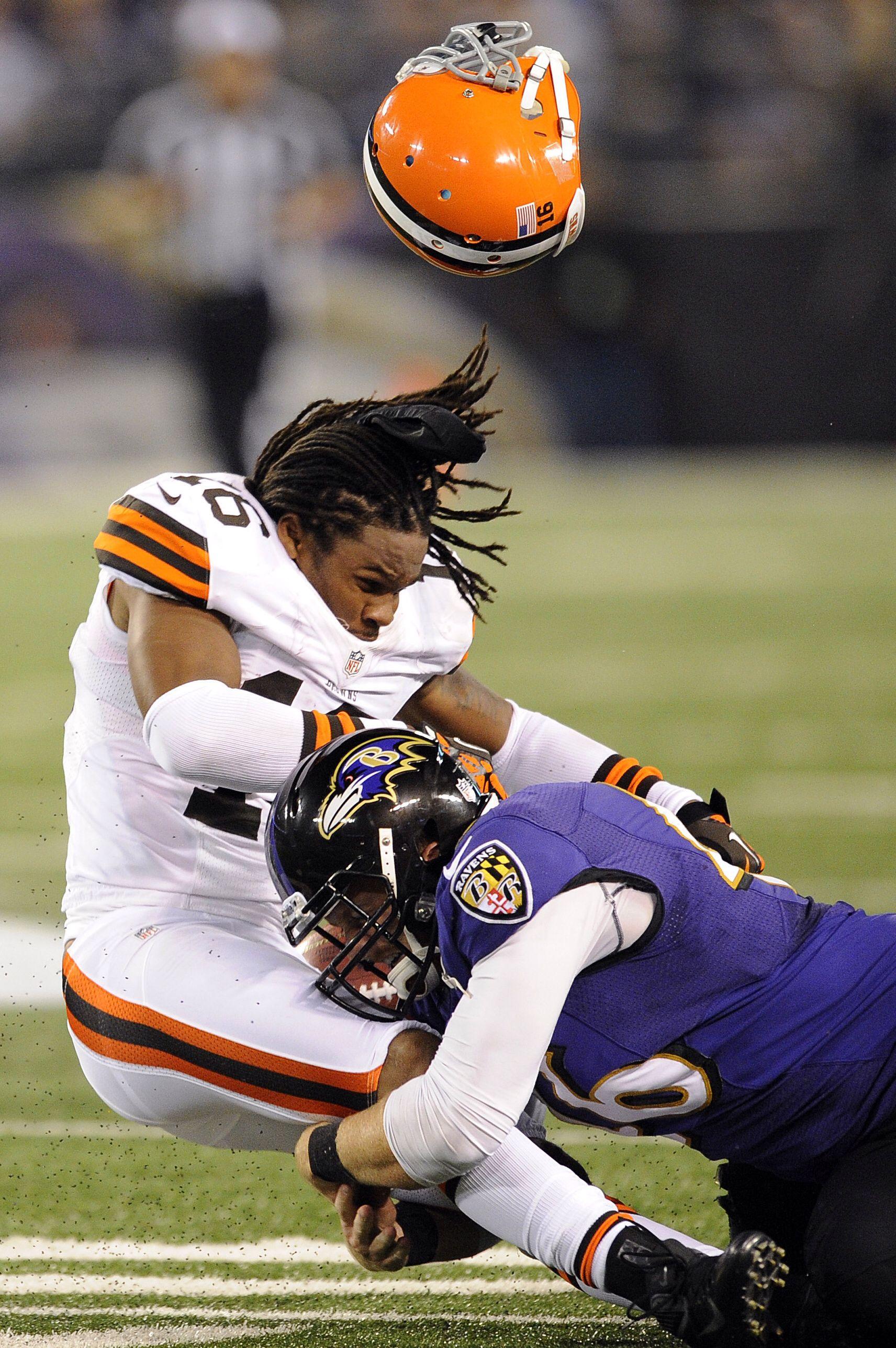 816a73f7a Big Football Hits Browns Ravens