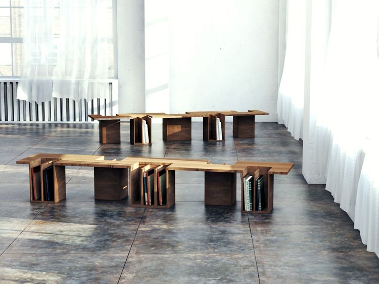 One-Two-Bench by EhoEho | things | Pinterest