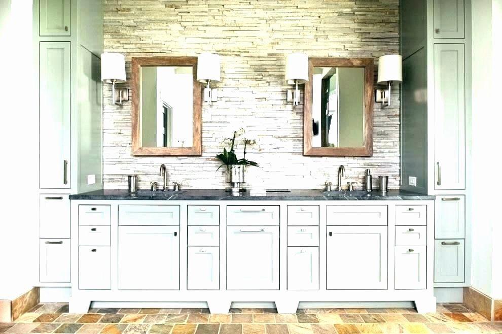 25++ Bathroom wall cabinet grey wood model