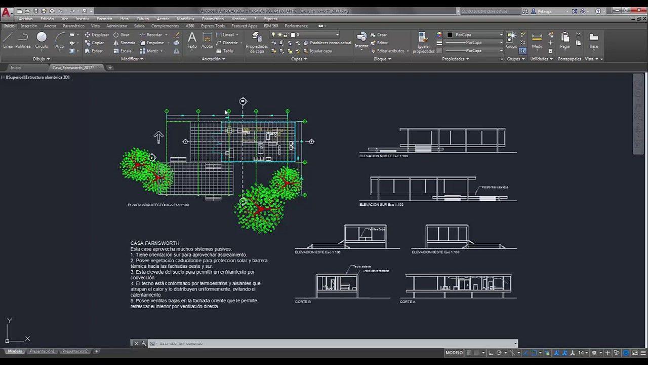 Como Crear Plantillas En Autocad Autocad Desktop Screenshot