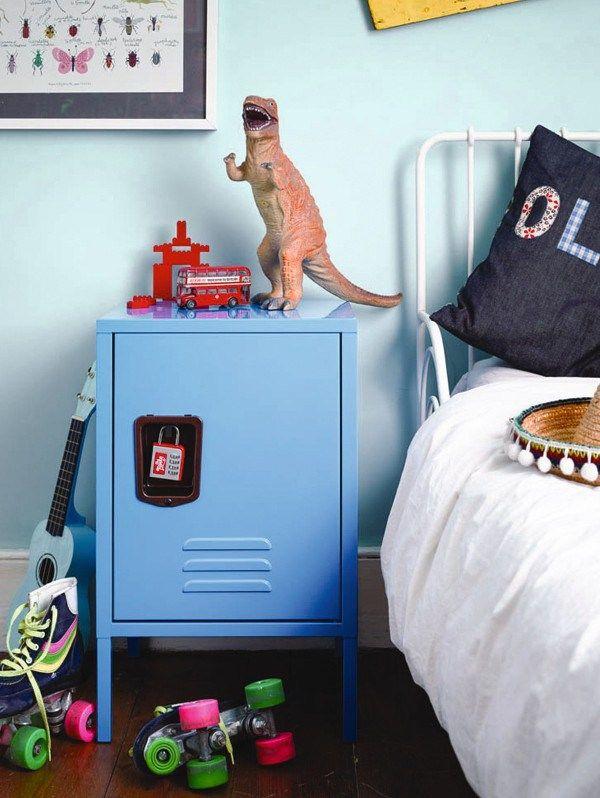 Locker Bedside Table: Kids Bedside Table, Bedside Lockers
