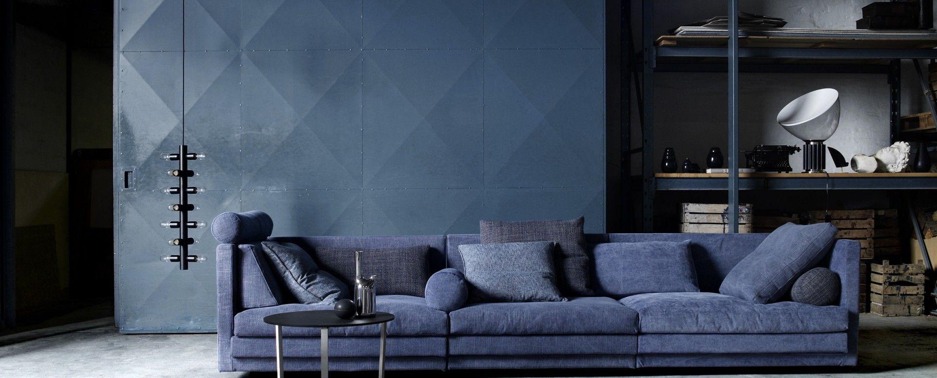Denne herlige Cocoon sofaen fra Eilersen er bare til å synke ned i ...
