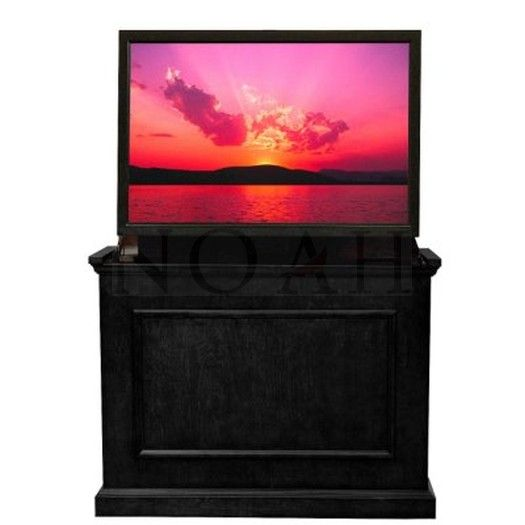 elevating cabinets for tv   Details about *Touchstone Elevate TV Lift Cabinet - Black