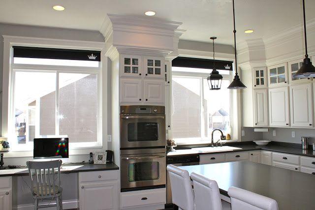 amy s casablanca kitchen soffit transformation for the home rh pinterest com