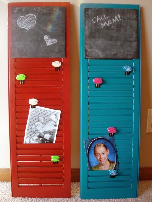 Blog About Vintage Collectibles Repurposed Upcycled Homemade Handmade Reused Glassware Social Network Diy Shutters Shutters Repurposed Plastic Shutters