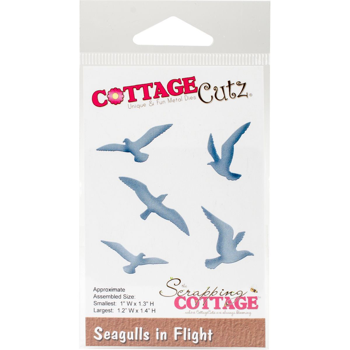 Cottagecutz die seagulls in flight