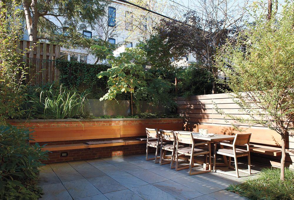Park Slope Renovation Goes Classic Modern | Backyard ...