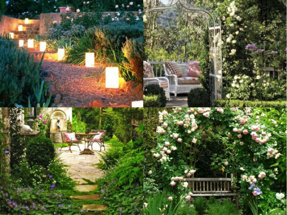 Romantische tuin leuke tuin idee n tuin tuin idee n for Kleine stadstuin ideeen