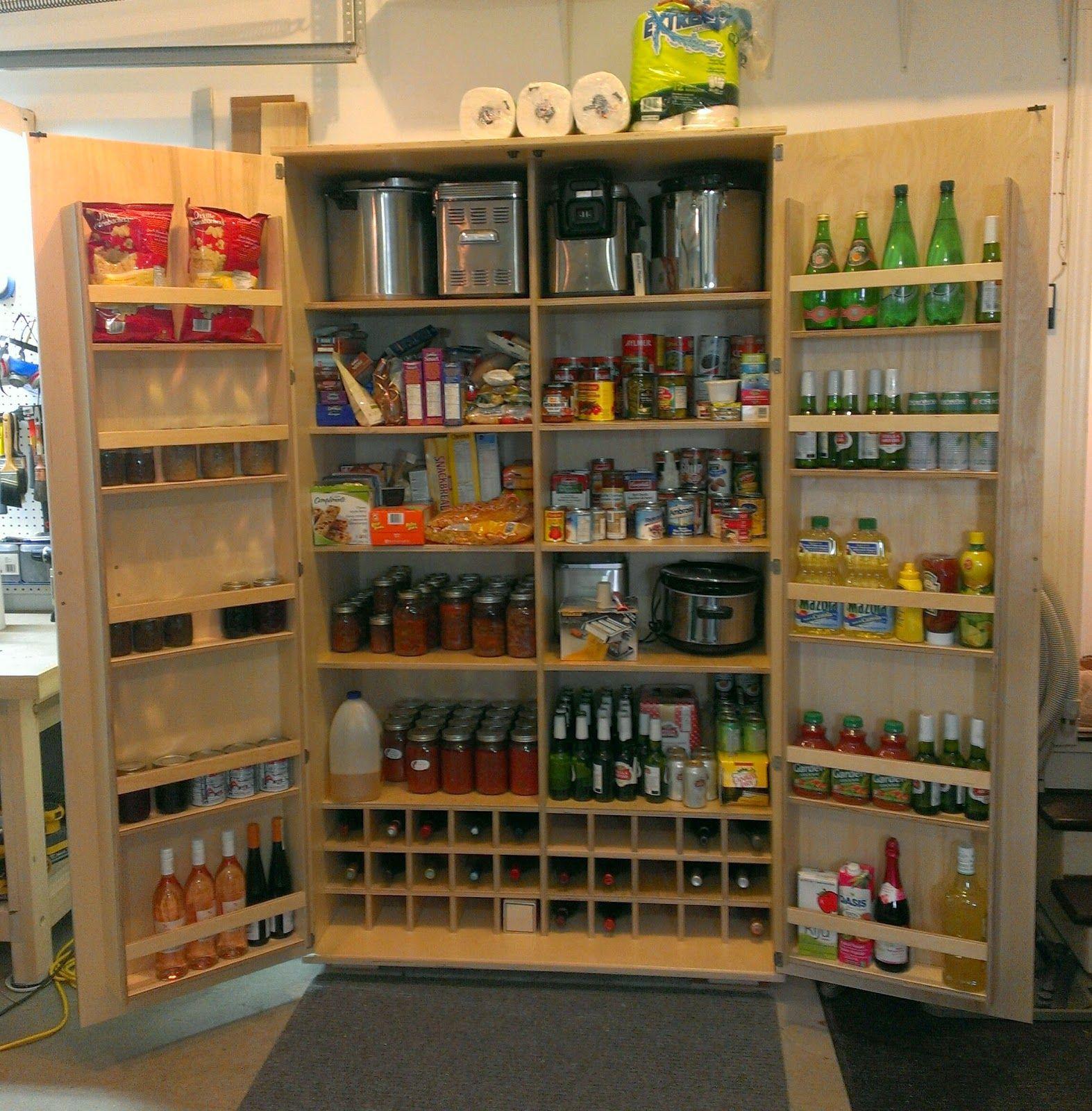 Blog De Menuiserie, Diy Et Bricolage Fabriquer Des Meubles Garagefurniturepantrieskitchen