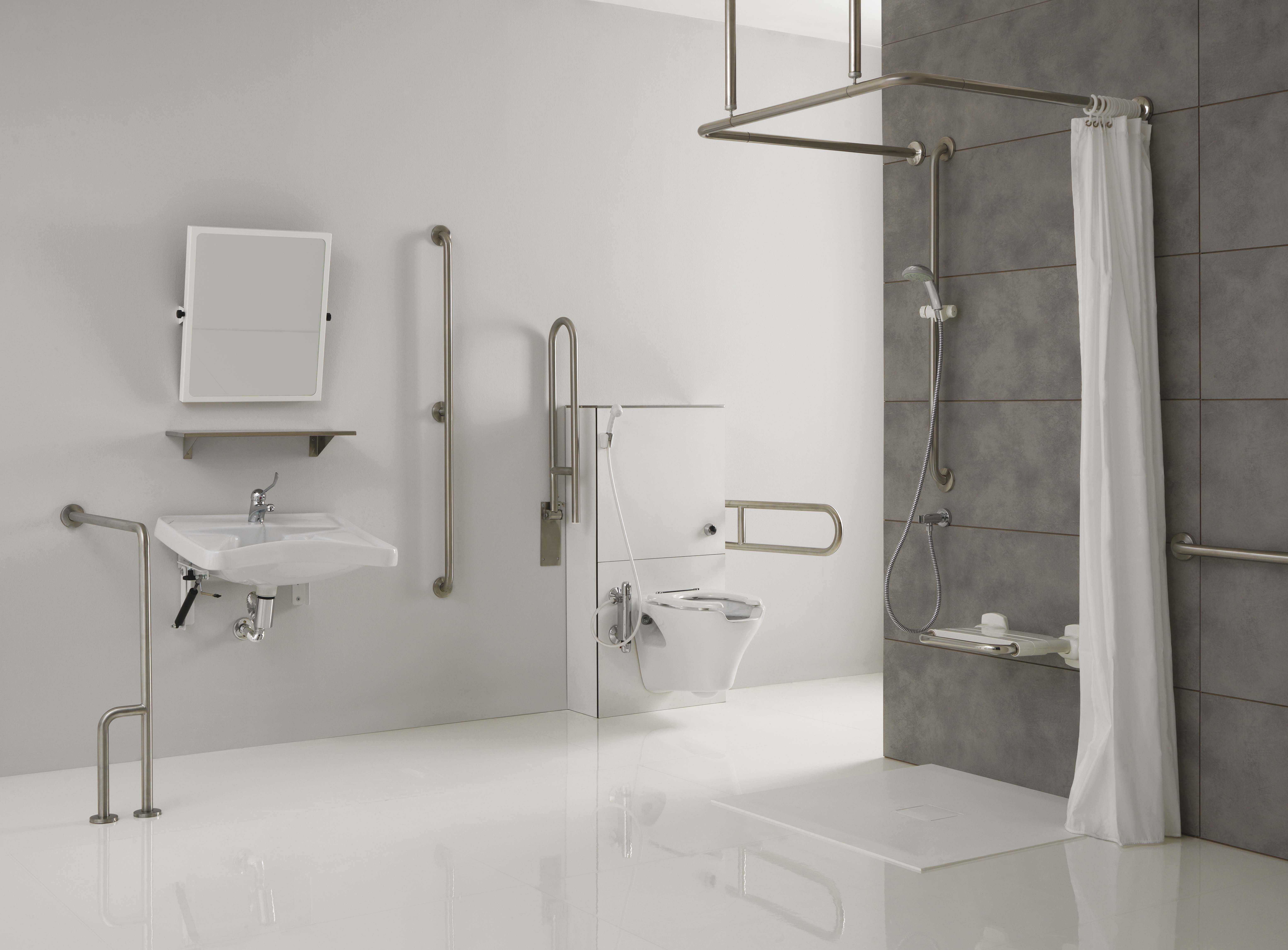 Bagno Invalidi ~ Ambiente bagno sicuro collezione bagno sicuro