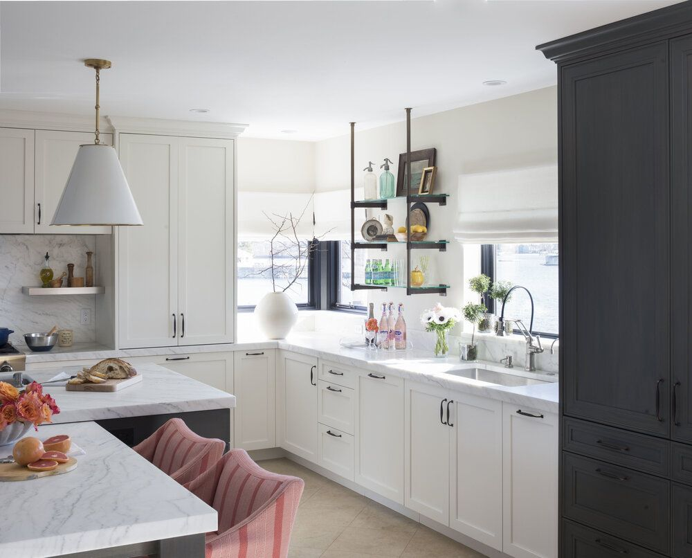Project Reveal Inspiring Kitchen Remodel In Rye Ny Dvd Interior Design In 2020 White Kitchen Remodeling Kitchen Inspirations Kitchen Remodel