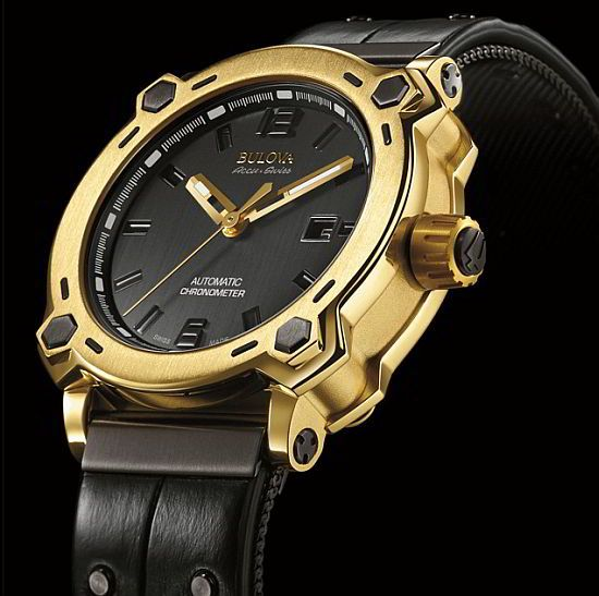 f99ff45f42c WEB LUXO - Alta Relojoaria  Bulova apresenta o primeiro relógio no mundo  feito de ouro puro