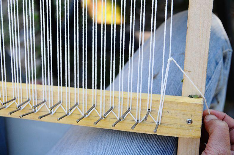 comment fabriquer un m tier tisser save the unicorns pinteres. Black Bedroom Furniture Sets. Home Design Ideas