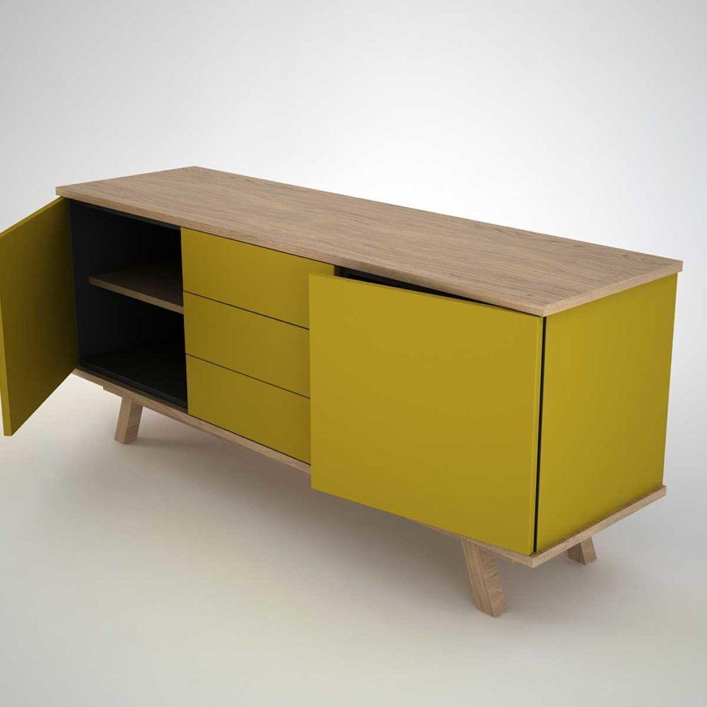 Unglaublich Sideboard Modern Foto Von In Olive Green