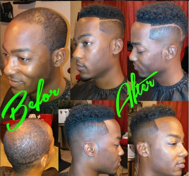 stylists and barbers installing