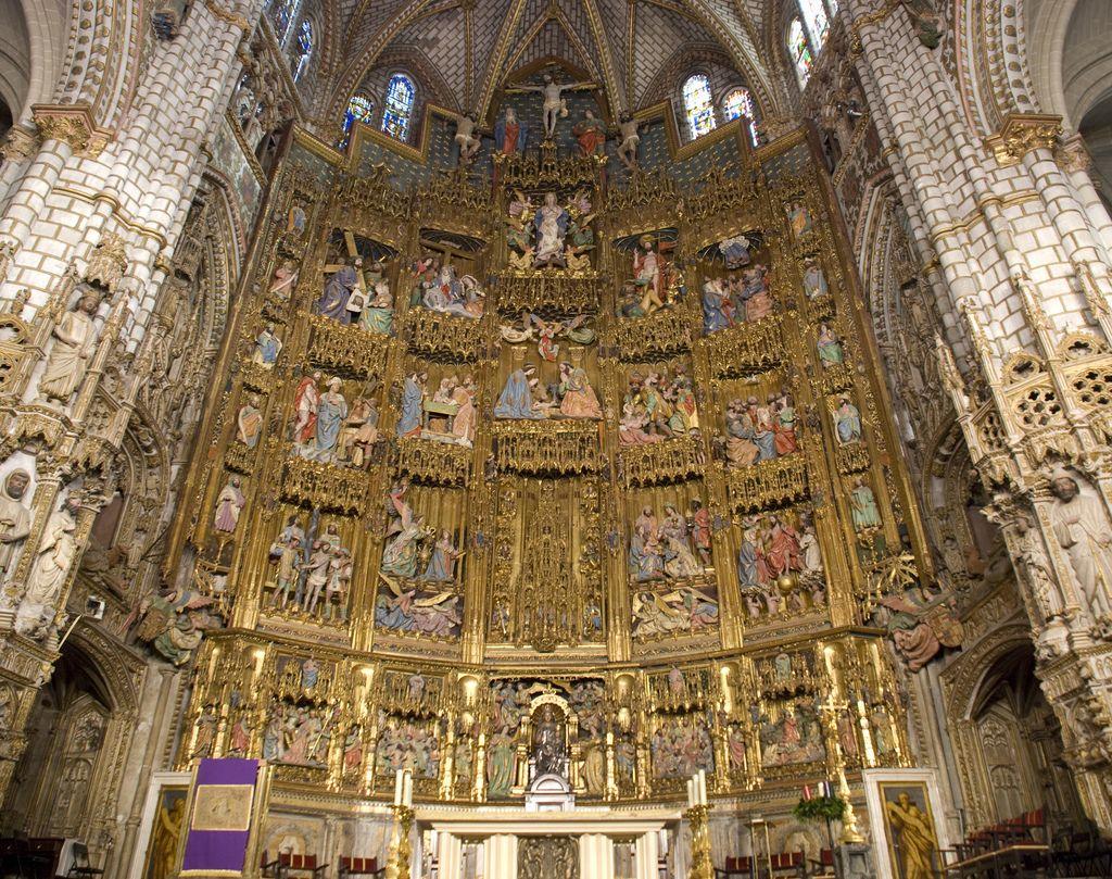 Resultado de imagen de altar mayor catedral toledo