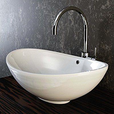 VILSTEIN© Keramik Waschbecken Aufsatz-Waschbecken Aufsatz - küche waschbecken keramik