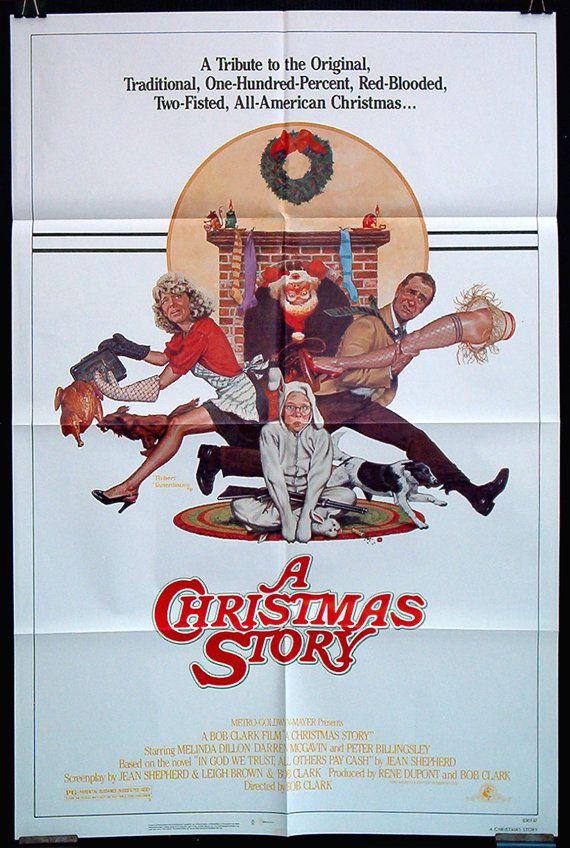 A Christmas Story original vintage movie poster by