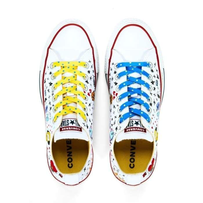 9b90445611e0 BT21 X CONVERSE Official Shoes. BT21 Collaborate with Converse to release a  collection of Converse