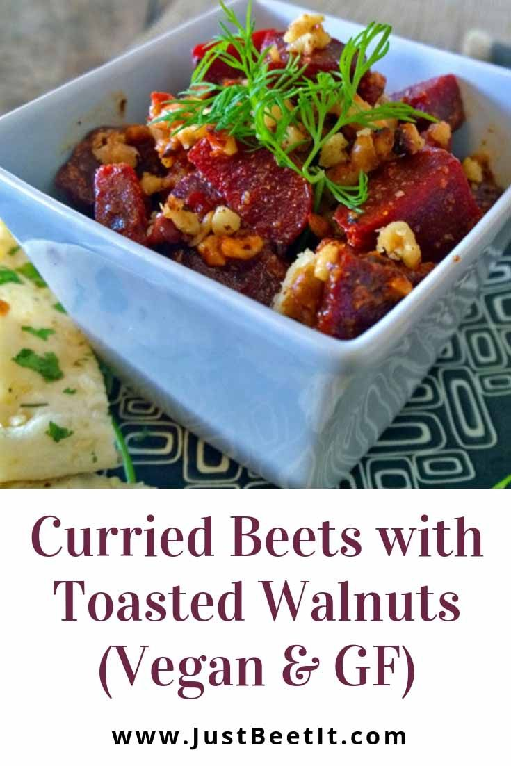 Curried Beets With Toasted Walnuts Salad Vegan Beet Salads