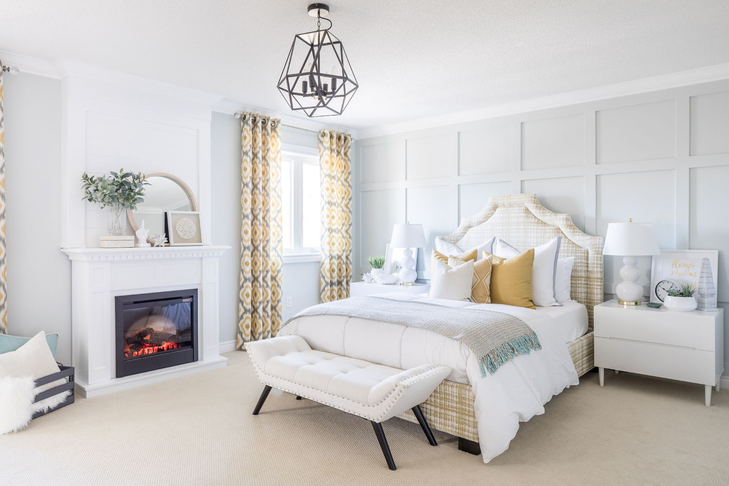 Master Bedroom Oasis master bedroom ideas with links and instructions! bedroom with two