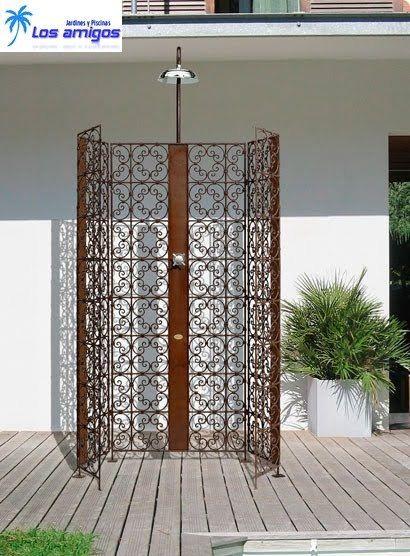 Puertas de hierro forjado para jardin buscar con google - Puertas de hierro para jardin ...