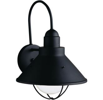 "View the Kichler 9023 Seaside Single Light 14"" Tall Outdoor Wall Sconce at LightingDirect.com."