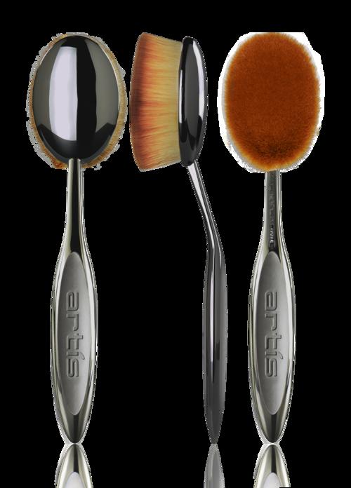 Oval 8 Oval makeup brush, Artis makeup brushes, Artis