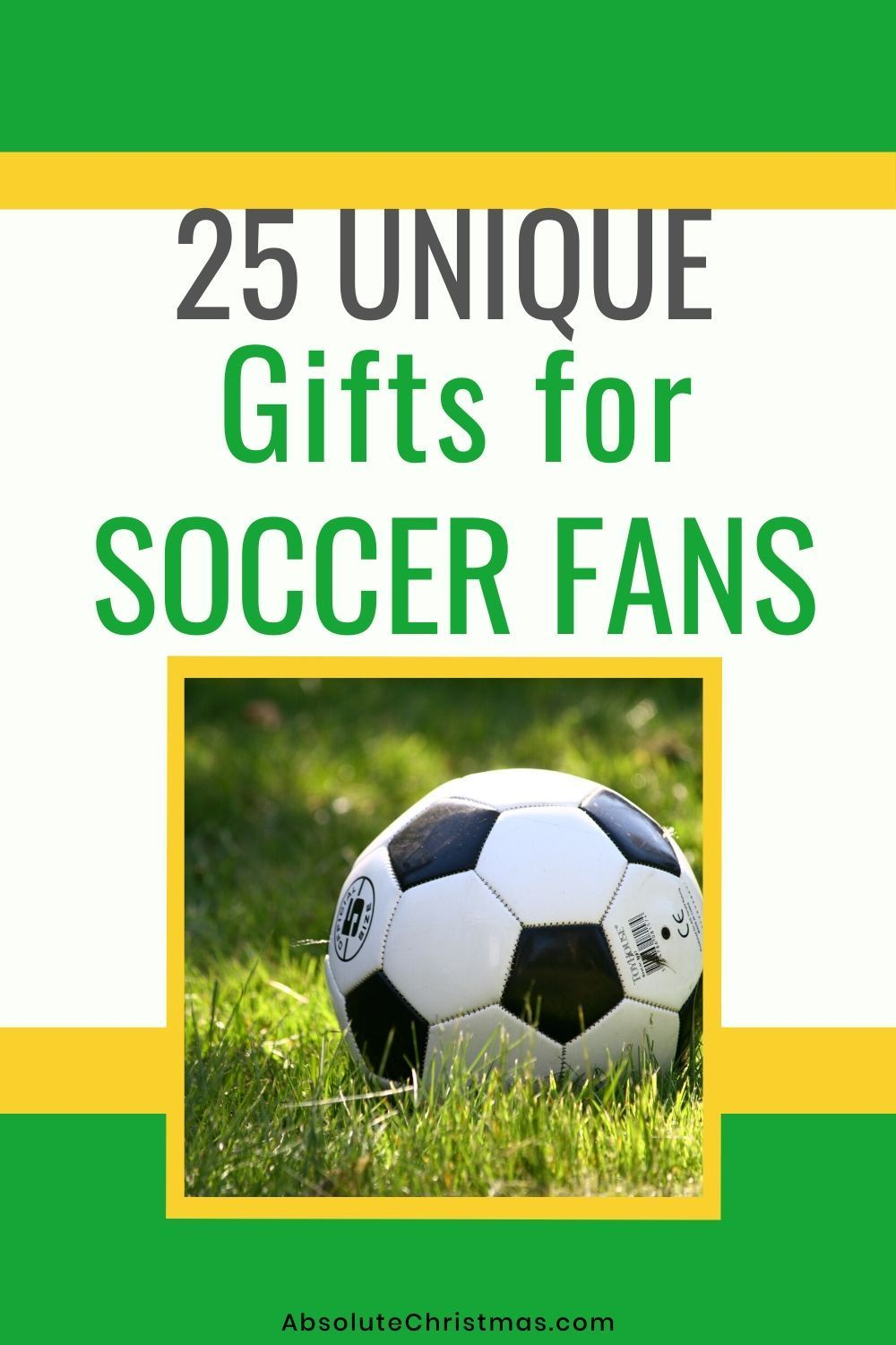 33 Best Gifts For Soccer Fans And Players In 2020 Gifts For Old Men Gifts Teenage Girl Gifts