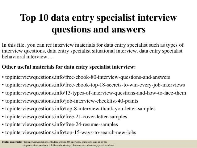 Data entry jobs are one of the best ways to make money from home - charge entry specialist sample resume