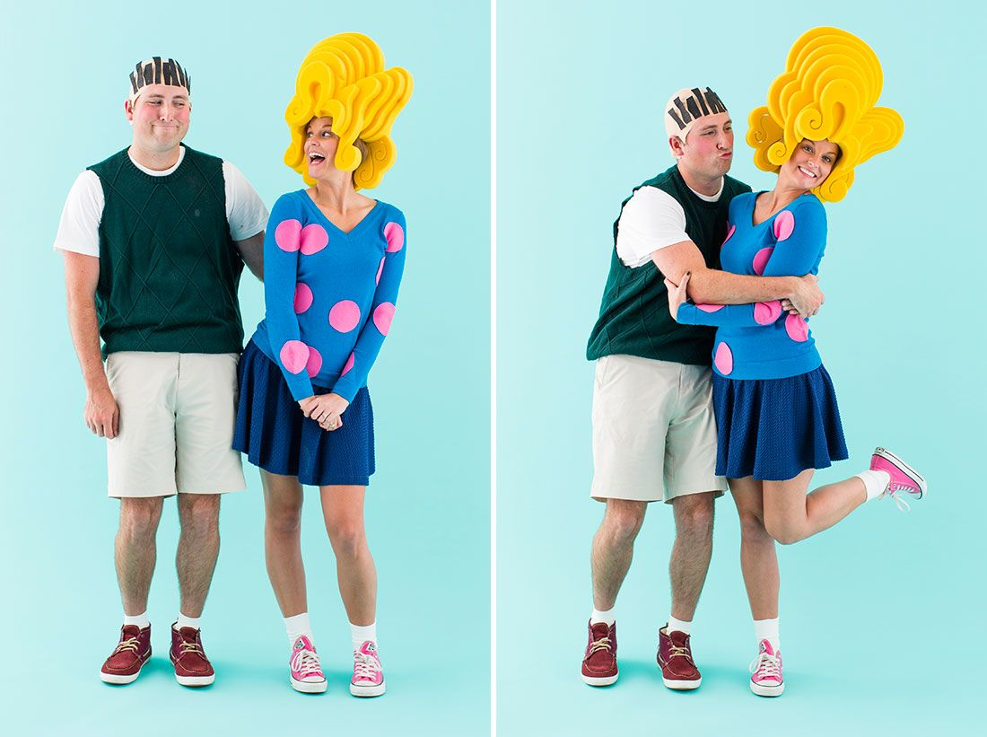 The 5 Best DIY Couples Costumes for Halloween 2015