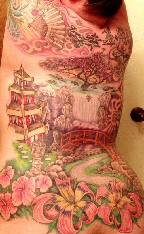 Japanese pagoda tattoos - Google Search | Tattoos ...