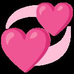 Revolving Hearts In 2021 Heart Emoji Emoji Heart