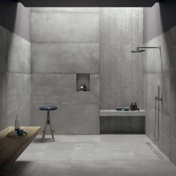 bathroom - kronos ceramiche - floor coverings in porcelain