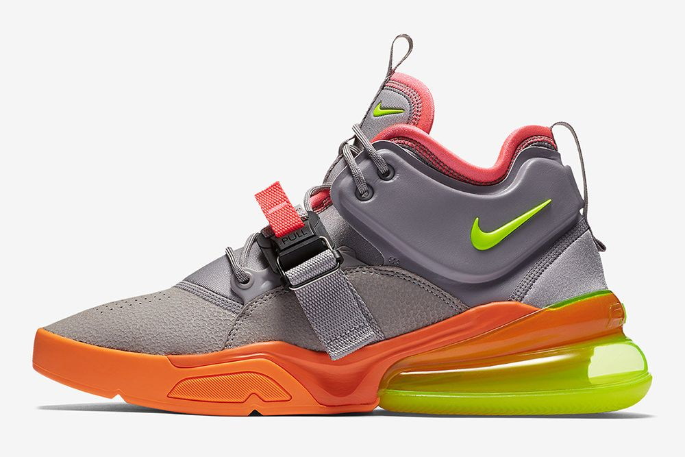 "buy popular cf3c9 54ab6 Nikes Air Force 270 Surfaces in Vibrant ""Sherbet"" Colorway"