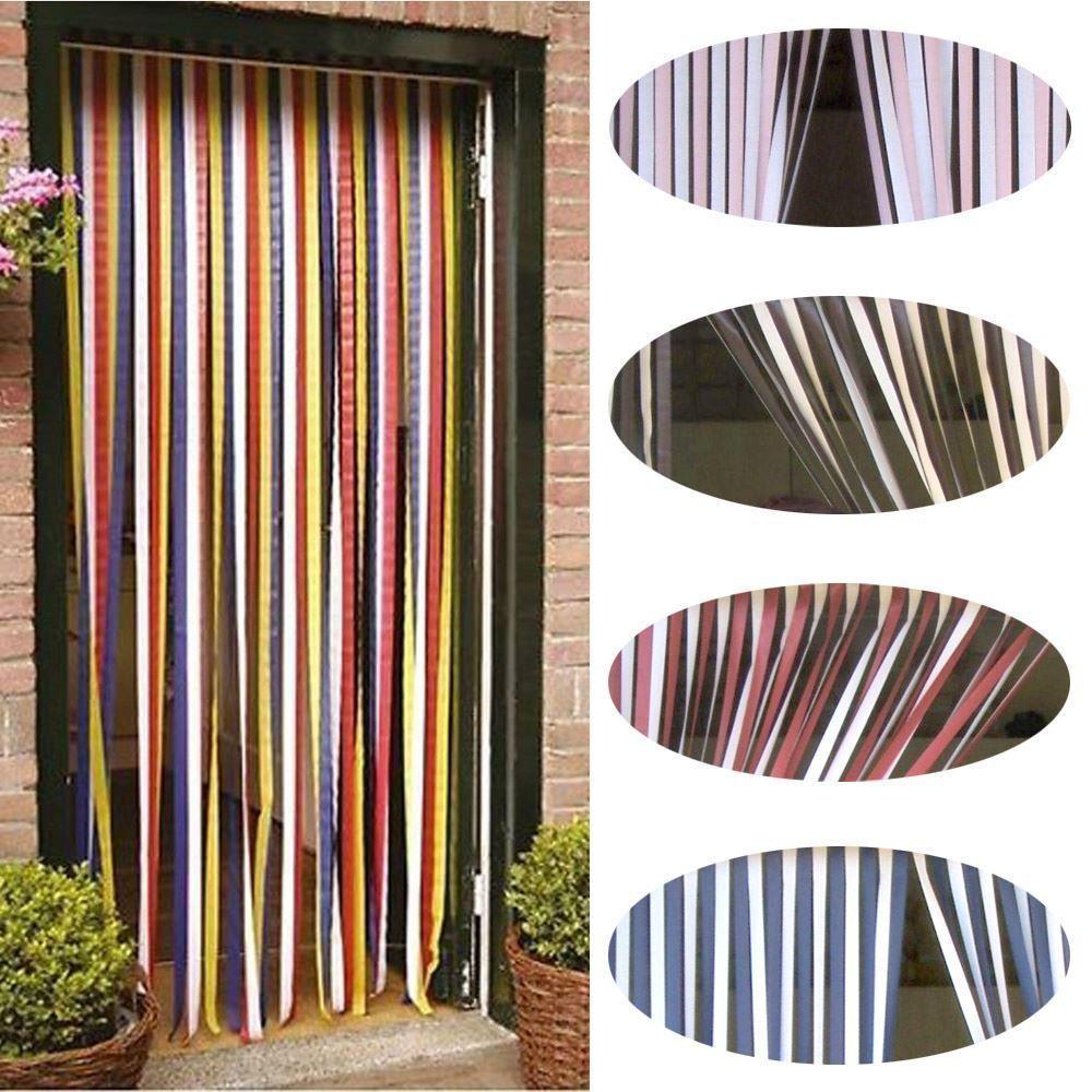 Details About Strip Blind Multicoloured Door Fly Screen Walk