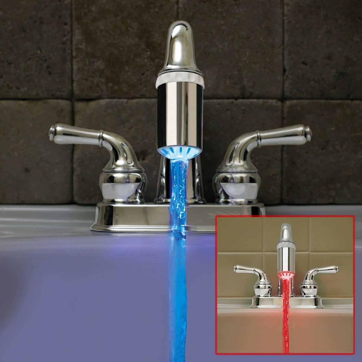 Suretemp Led Faucet Light Know The Temperature Of Your Water At A