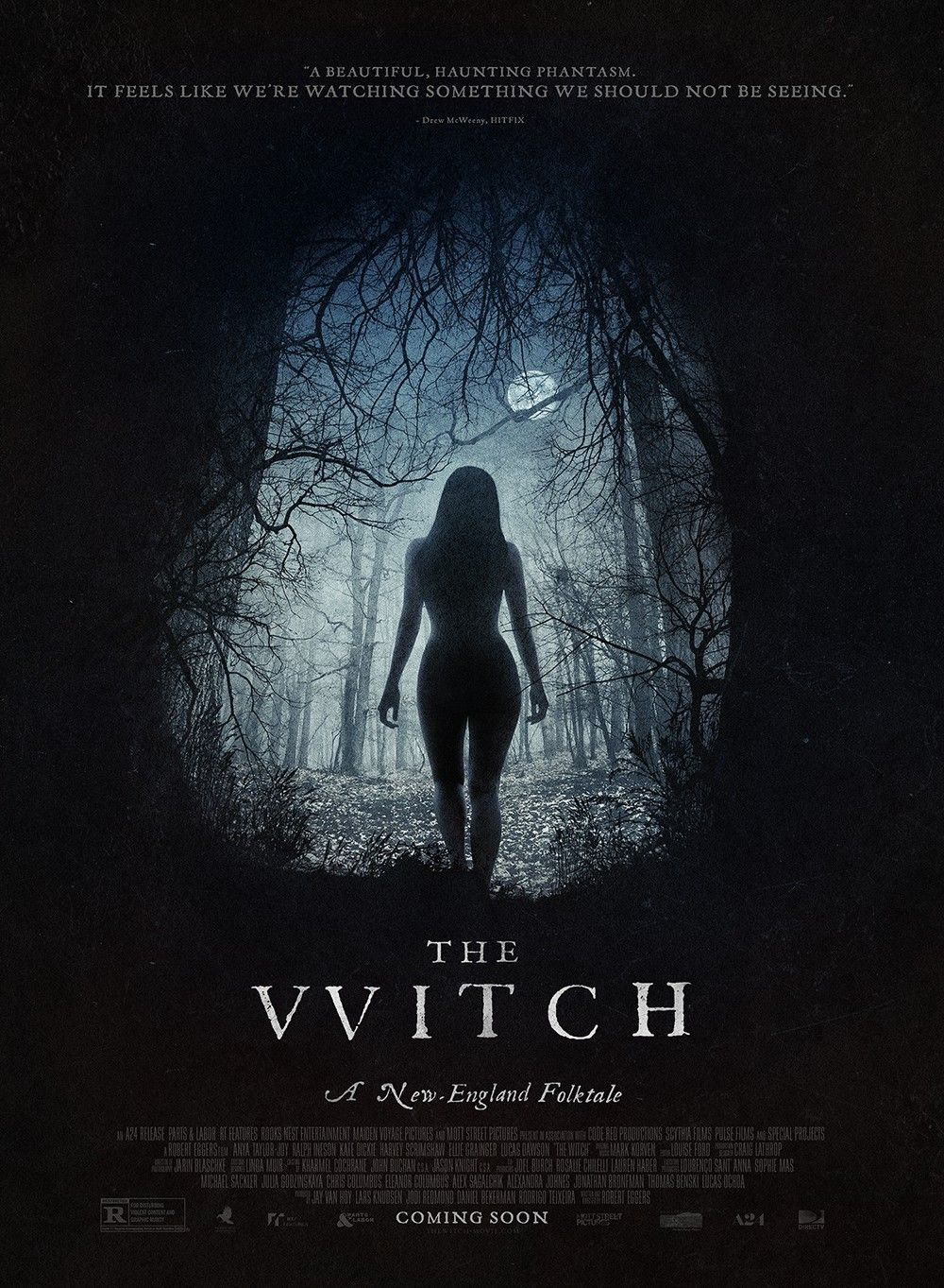 Affiche du film d'horreur the Witch