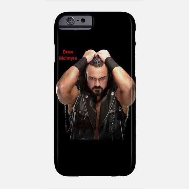 Drew Mcintyre wwe Awesome Phone Case. #Prowrestling #Wrestling #DrewMcintyre #WWE #Phonecase #Tshirt #Mask