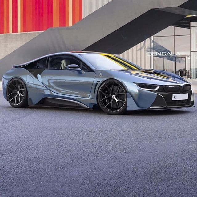 Pictures Do Not Do The BMW I8 Justice. So Much Better In