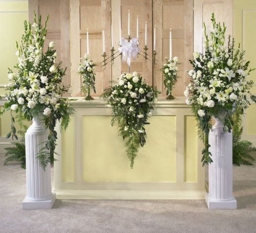 Flowers For Church Wedding Ceremony: Wedding Flowers Part III-Ceremony Flowers, Reception