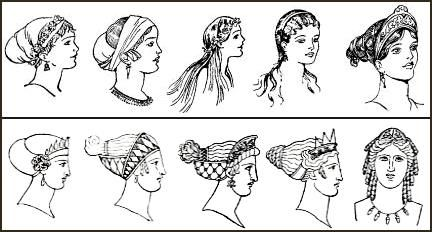 Marvelous 1000 Images About Costume Project On Pinterest Ancient Greece Short Hairstyles Gunalazisus