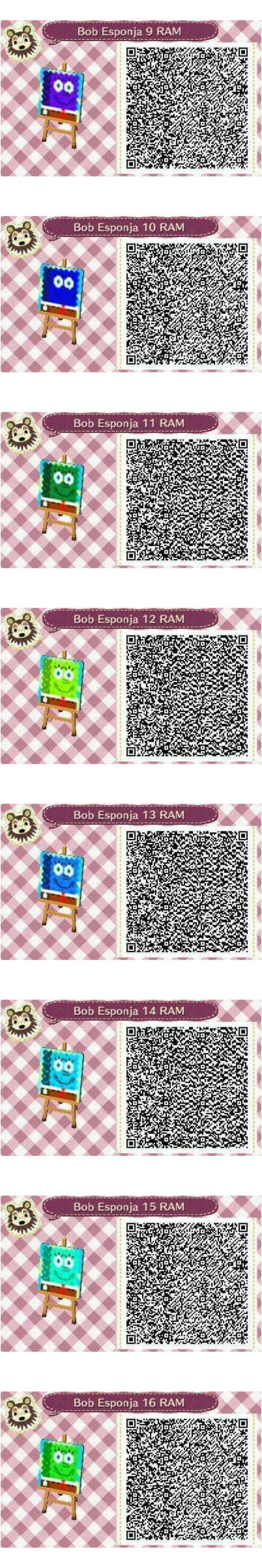 Este es un QR Code para Animal Crossing creado por mí misma. Como podéis observar es un camino
