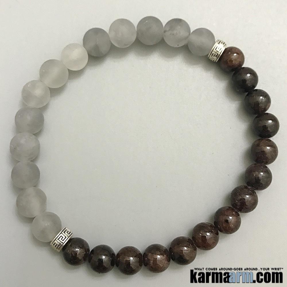 584f8c5cb153ef Buddhist Bracelet | Om Mani Padme Hum Mantra Prayer Wheel Amethyst |  Labradoriteॐ Yoga Beaded Chakra Energy Reiki Meditation Stretch Jewelry |  Products ...