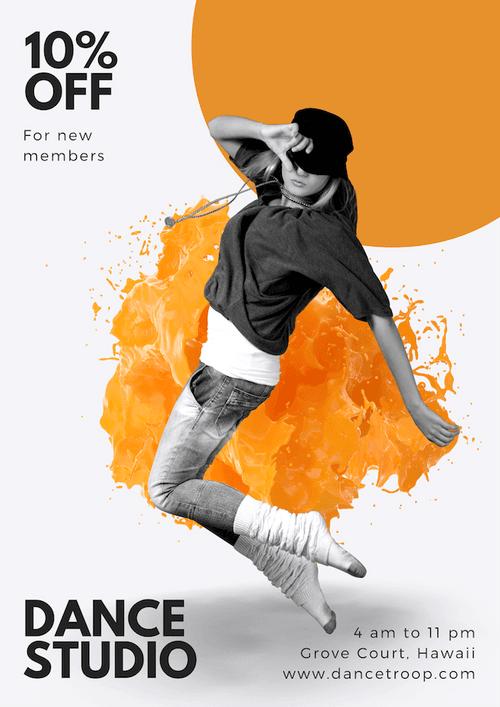 dance posters dance poster online