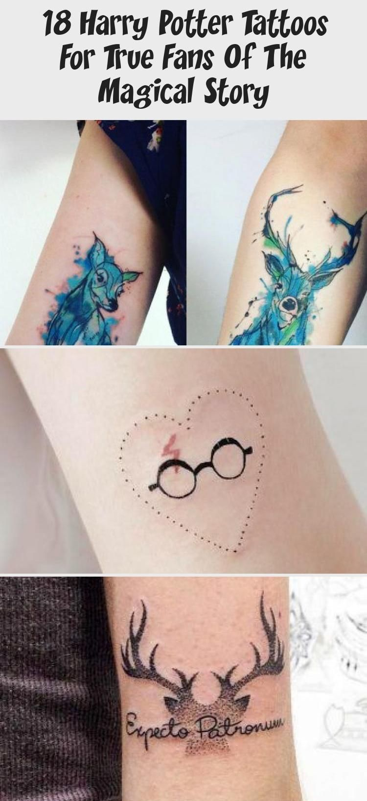 18 Harry Potter Tattoos For True Fans Of The Magical Story Tattoos Fans Harry Magical Kleines Tattoo Blog