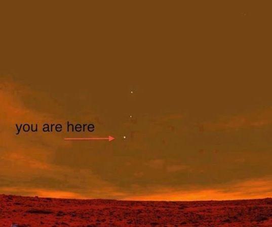 EarthasseenfromMars Curiosity mars Curiosity rover